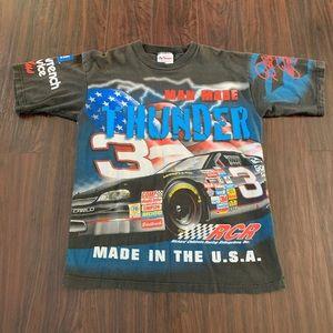 Dale Earnhardt Man Made Thunder All Over Print M